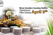 Garden river Sunday buffet