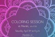 Mandala Coloring Session