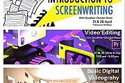 Screenwriting, Videography, Screenwriting