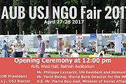 AUB USJ NGO Fair 2017