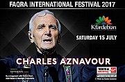 Charles Aznavour at Faqra Festival 2017