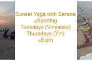 Sunset Yoga With Serene