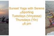 Sunset Yoga With Serene