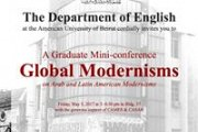 A Graduate Mini-conference on Arab and Latin American Modernisms