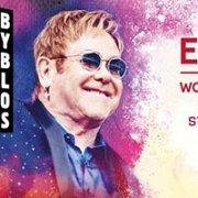 Elton John in Concert in Lebanon at Byblos International Festival