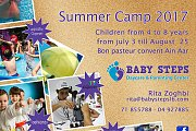 Baby Steps Summer Camp