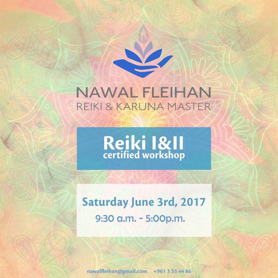 Reiki I Ii Certified Workshop Lebtivity