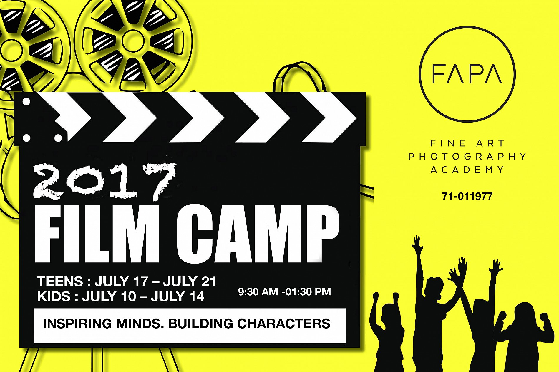 FILMMAKING Summer Camp Colonie De Vacances Lebtivity
