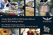 Sunday Open Buffet at Villa Paradiso Batroun