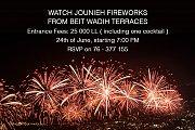 Watch Jounieh Fireworks From Beit Wadih