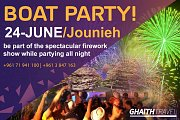 Jounieh Festival Magical Boat Party
