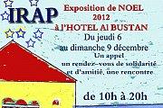 IRAP - Exposition de Noel a l'Hotel al Bustan