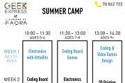 Faqra Technology Summer Camp