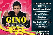 Fantastic Family Show with Gino, the Lord of Magic