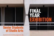 FINAL YEAR ART EXHIBITION by AUB Art students