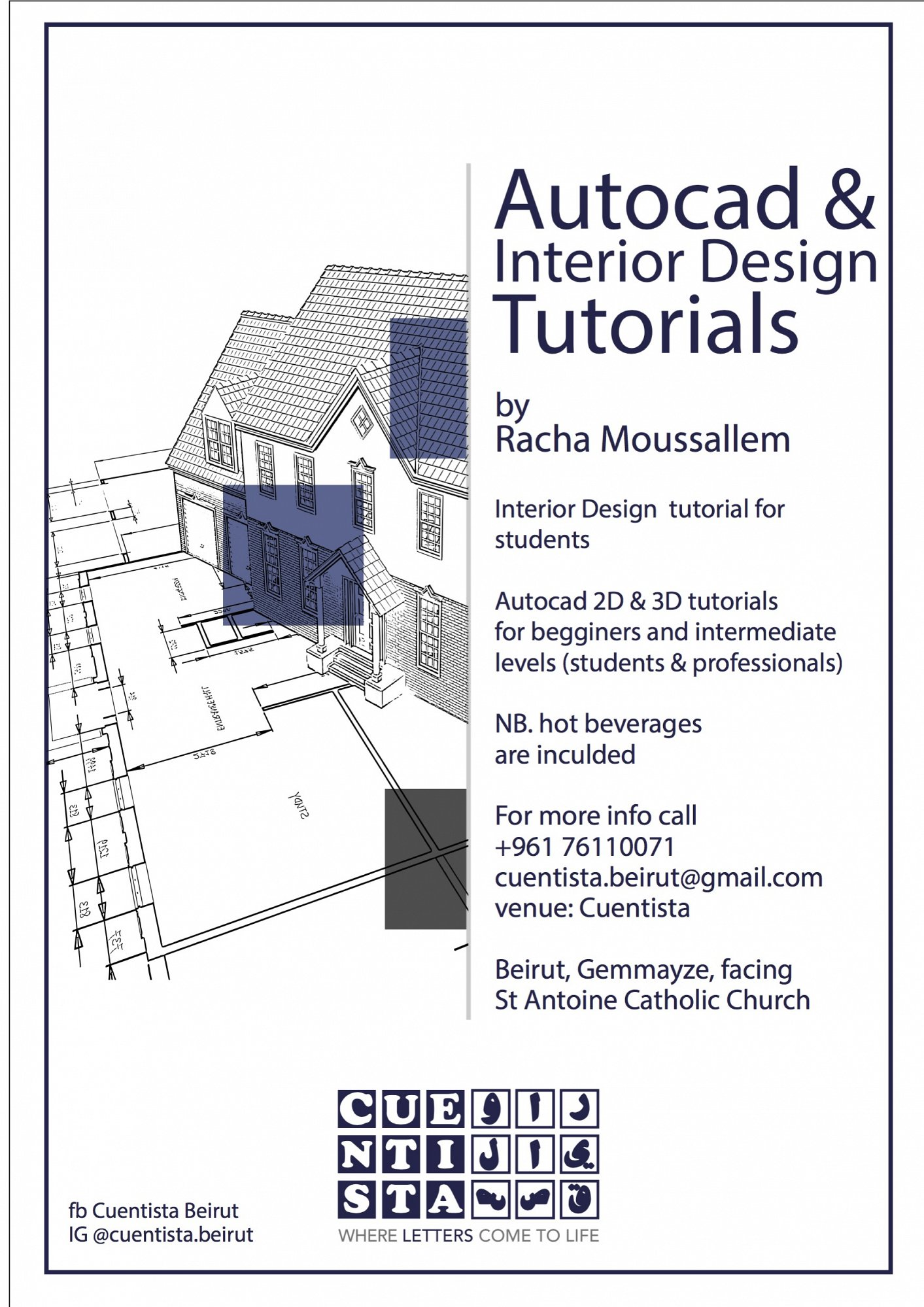 Autocad Interior Design Tutorial Lebtivity