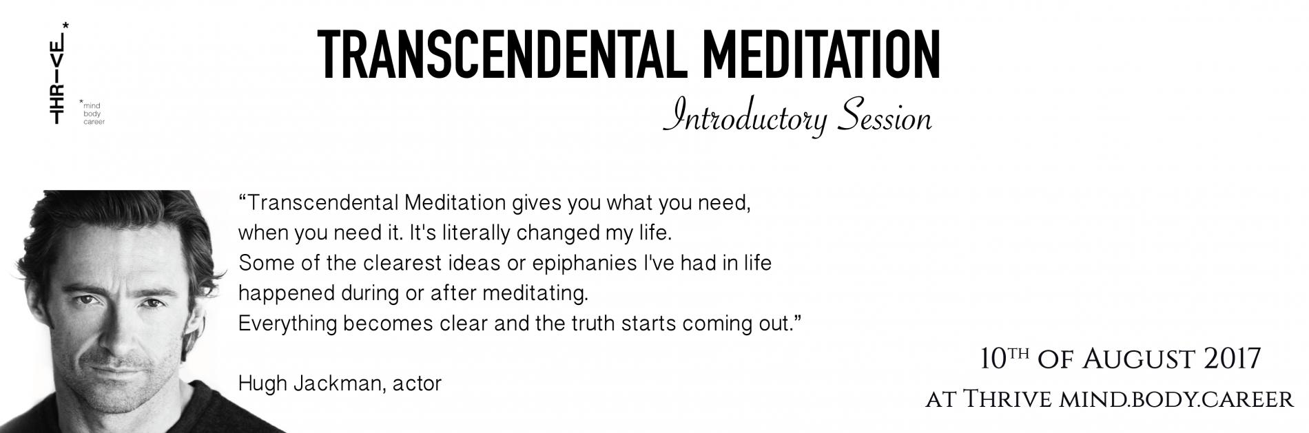 Transcendental Meditation Lebtivity