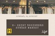 H-Shirt Designers Sunday Market