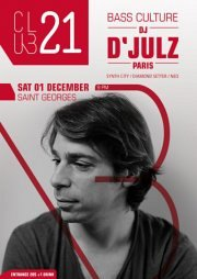 CLUB21 presents: D'Julz