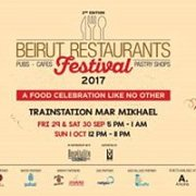Beirut Restaurants Festival 2017 - Second Edition
