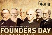 AUB Founders Day Ceremony