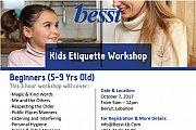 Kids Etiquette Training Workshop