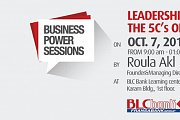 Leadership Dashboard : The 5 C's of leadership