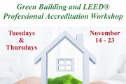 Green Building and LEED® Professional Accreditation Course