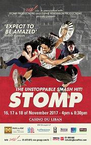STOMP in Lebanon - The Unstoppable Smash Hit