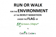 Run or Walk for Ecological Awareness & Reforestation of Lebanon