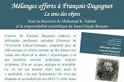 """Présentation de l'ouvrage """"Mélanges offerts à François Dagognet"""""""