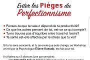 Eviter les pièges du perfectionnisme