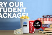 VOX Cinemas Monday Student Package