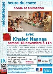 Heure du conte avec Khaled el Naanaa