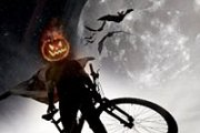 Witches Night ride on a Bike