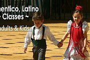 Flamenco-Latino classes for Adults and Kids