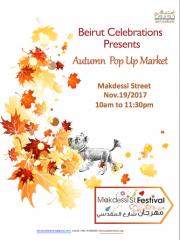 Autumn Pop Up Market