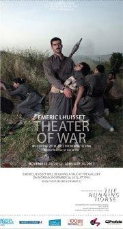 Theater of war / مسرح الحرب - Art Exhibition by Emeric Lhuisset