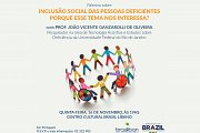 Social Inclusion of Persons with Disabilities (lecture in Portuguese)