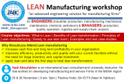 LEAN Manufacturing Workshop
