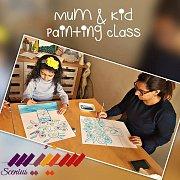 Mum & Kid Painting Class