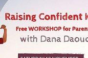 Raising Confident Kids - Free Workshop for Parents