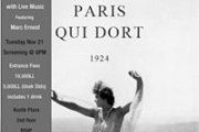 Stark Movie Night: Paris Qui Dort (1925) /w Live Piano