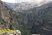 Hiking in Wadi Qannoubine