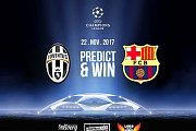 Predict & Win  at Lord of the wings - Barcelona Vs Juventus