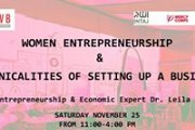 Women Entrepreneurship & Technicalities of Setting Up a Business