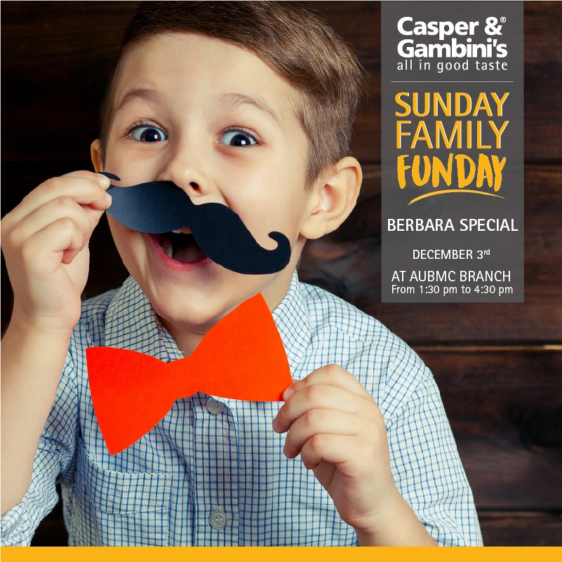 Sunday Funday at Casper & Gambini's AUBMC « Lebtivity