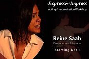 Express & Impress- Acting & Improvisation Workshop 2017