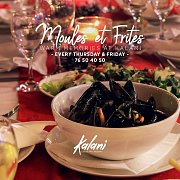 Moules et Frites at Kalani's Restaurant