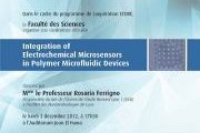 Integration of Electrochemical Microsensors in Polymer Microfluidic Devices - USEK